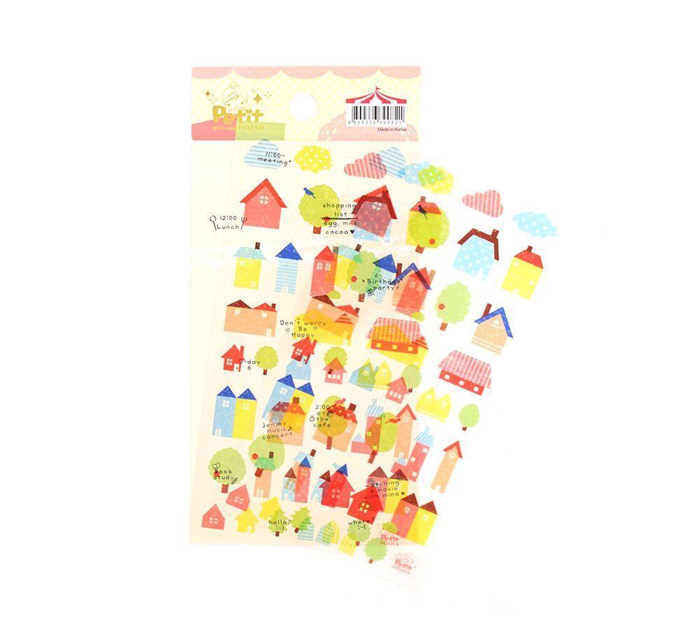 House Highlight Sticker Set