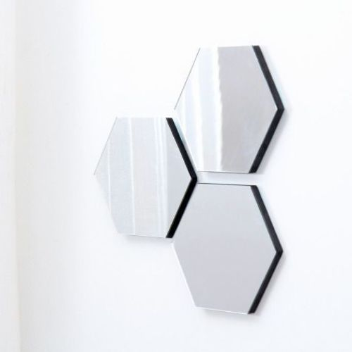 Hexagon Mini Mirror