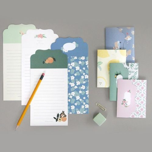 Mini Pattern Letter Set