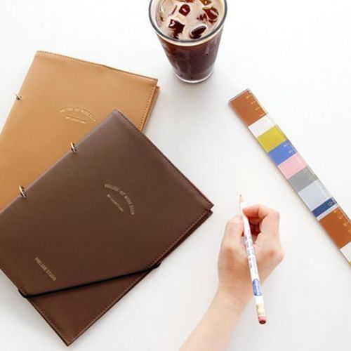 Prelude A5 Planner Leather Binder
