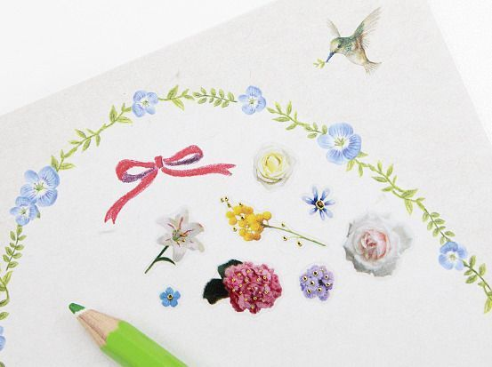 Beautiful Garden Deco Sticker