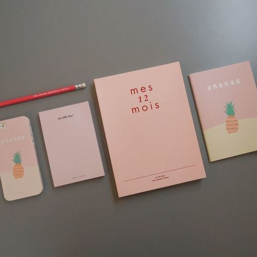 Oh, Lolly Day! Pink Notepad