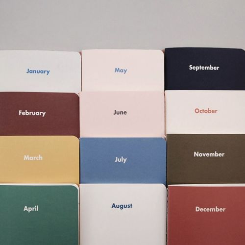 Month by Month Daily Planner