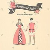 Novel Hardcover Notebook v2, Romeo and Juliet