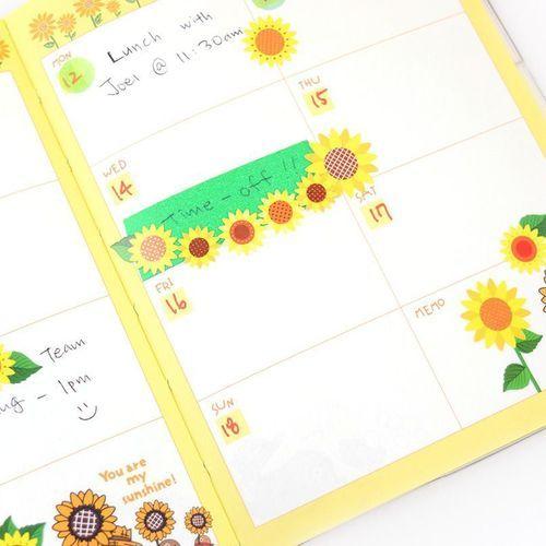 Sunflower Deco Sticker
