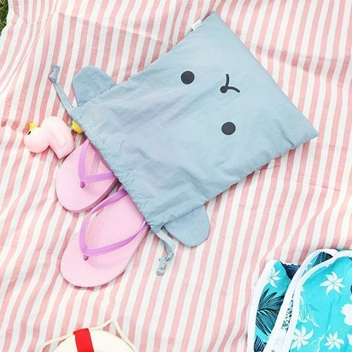 Animal Ear Drawstring Pouch