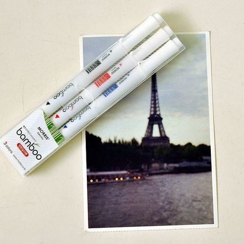 Bamboo Twin Marker Set