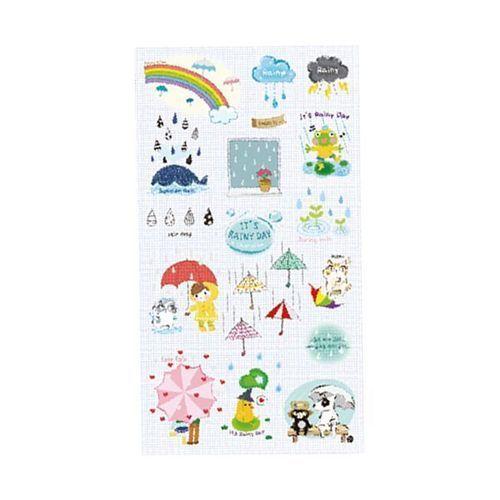 Rainy Day Deco Sticker