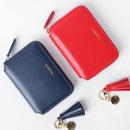 Bubilian Genuine Leather Mini Wallet