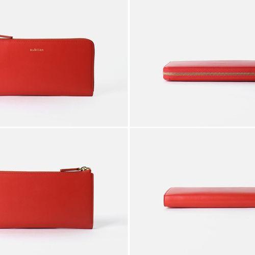 Bubilian Genuine Leather Long Wallet
