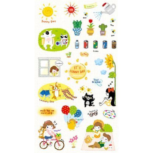 Sunny Day Deco Sticker