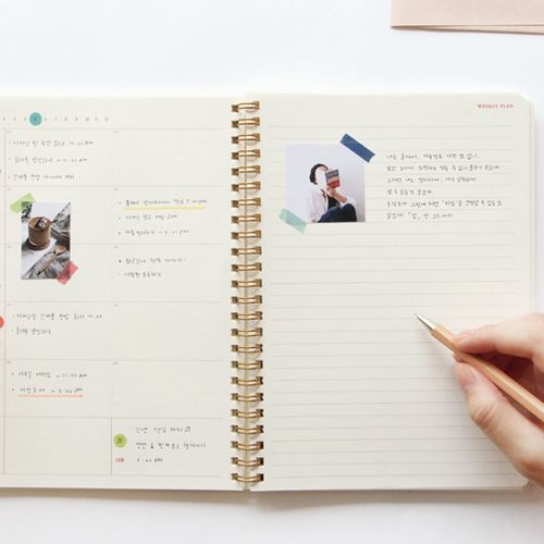 Pastel Brilliant Weekly Planner