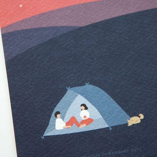 Dailylike Illustration Card v1