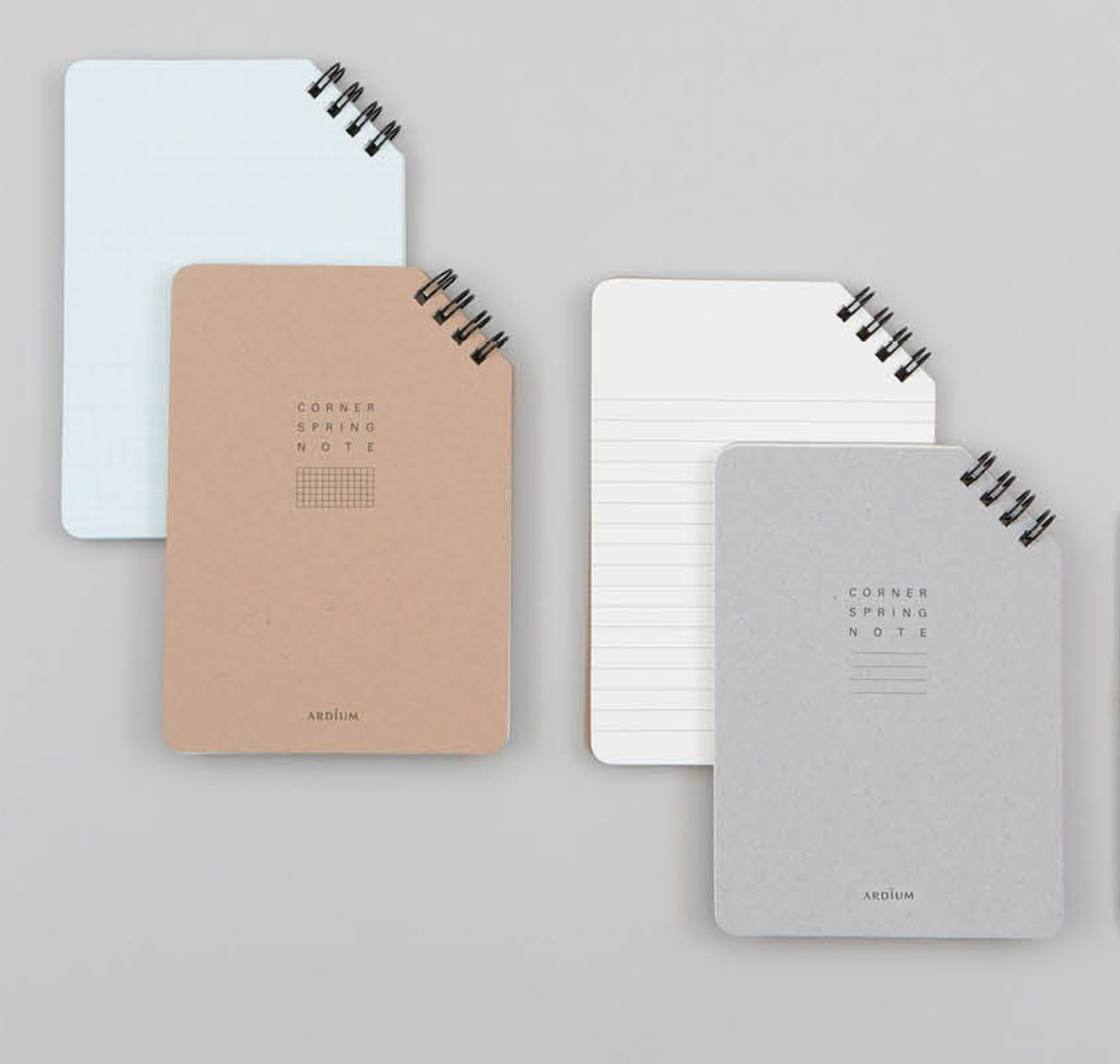 Corner Spiral Notebook