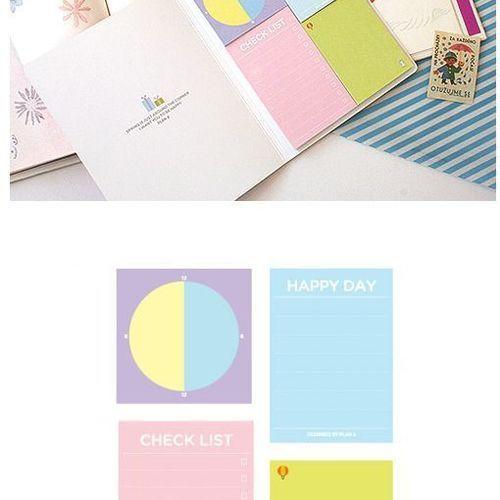 Schedule Sticky Notebook