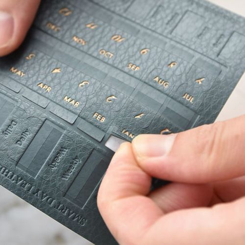 Shape Leather Index Sticker