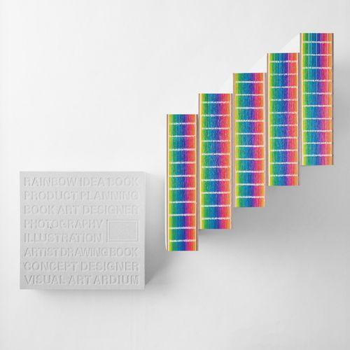 Rainbow Idea Notebook