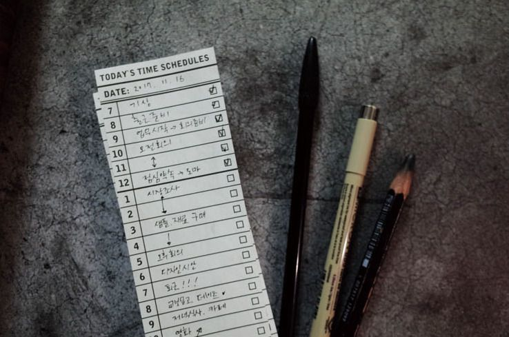 Simple Time Schedule Notepad