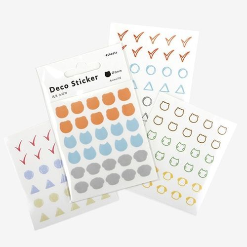Shape Deco Sticker Set v4