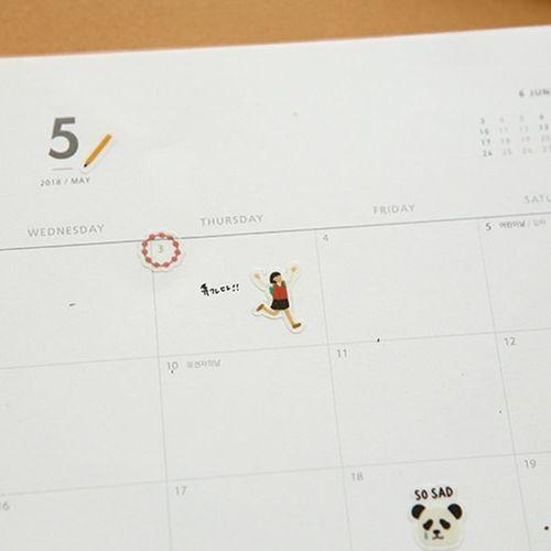 Dailylike Daily Deco Sticker v2