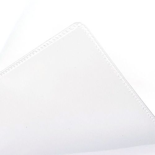 White PVC Ring Pouch