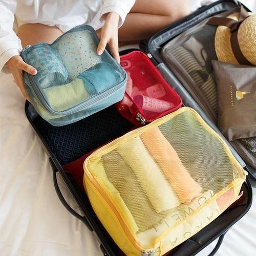 Luggage Mesh Bag Set