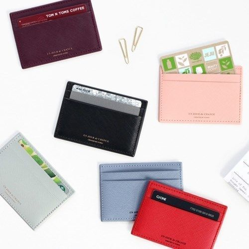 Un Jour De Chance Flat Card Pocket