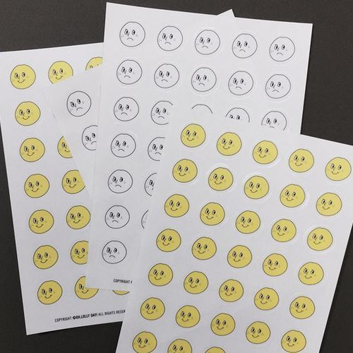 Face Emoticon Sticker