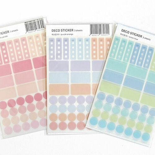 Planning Deco Sticker Set
