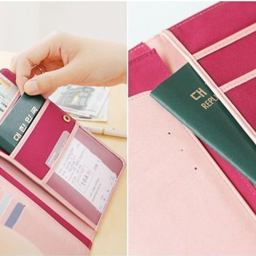 La Chance Passe Anti Skimming Passport Wallet