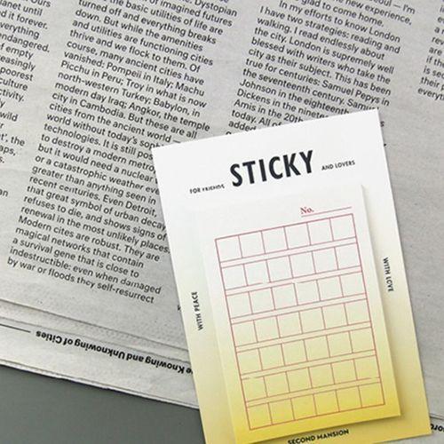 Gradient Genko Yoshi Sticky Note