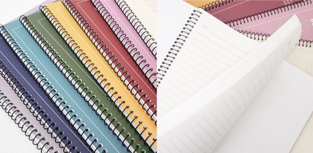 Colorful Elite Lined Notebook