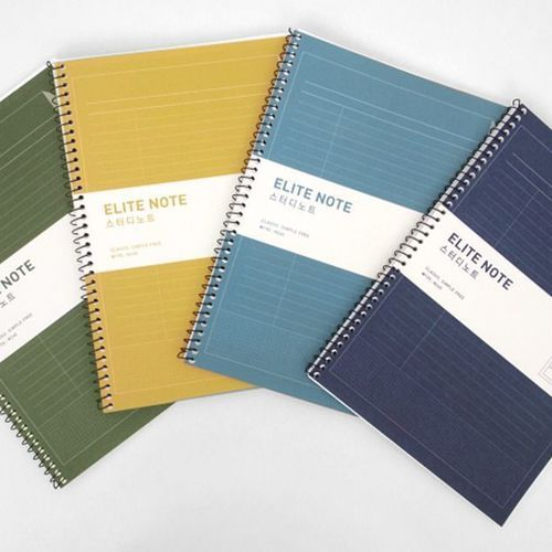 Colorful Elite Study Notebook