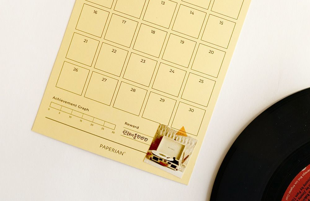 30 Days Goal Tracking Sheets