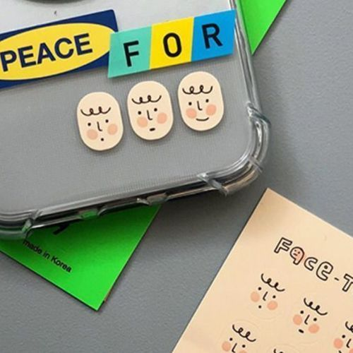 Face Mood Sticker Set