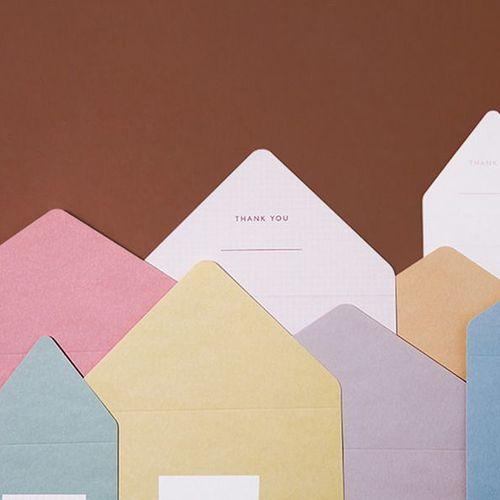 Large Pastel Folding Card Set