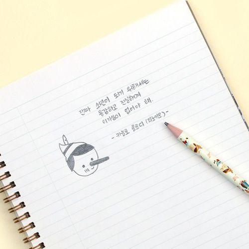 3pcs Literature Pencil Set