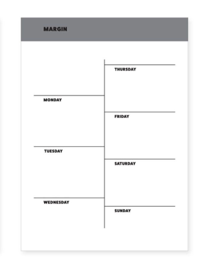 Basic Planning Notepad