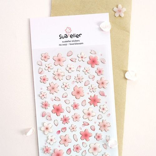 Love Blossom Deco Sticker v3