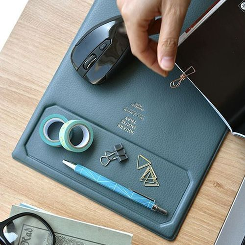 Leather Tray Mouse Pad