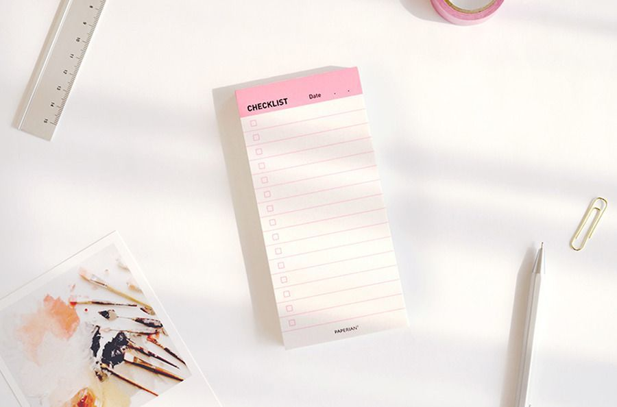 Paperian Checklist Pad