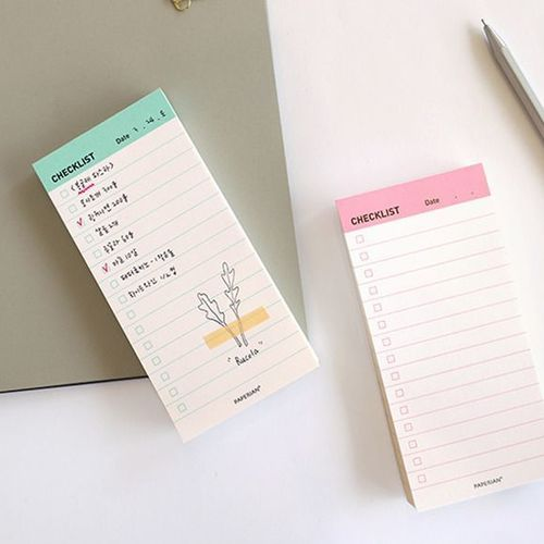 Paperian Checklist Pad