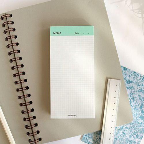 Paperian Grid Memo Pad