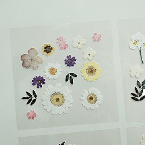 Dear Flower Deco Sticker Set