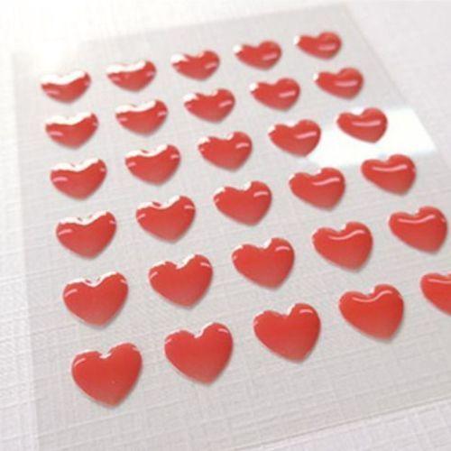 Heart Epoxy Deco Sticker