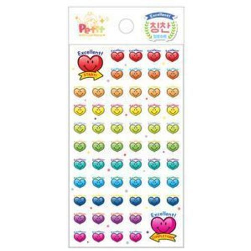 Excellent Heart Sticker Set