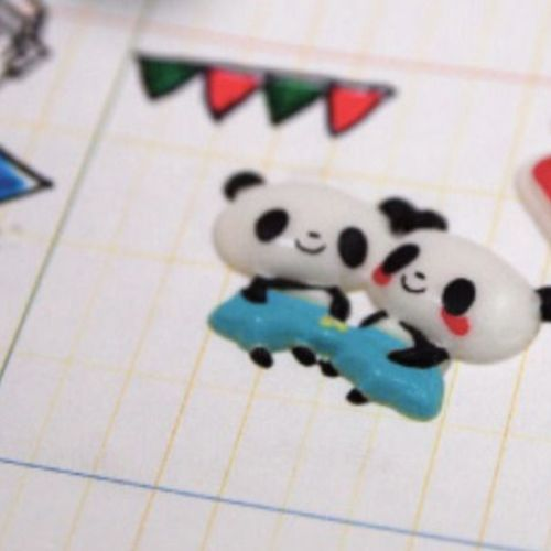 Lovely Panda Deco Sticker