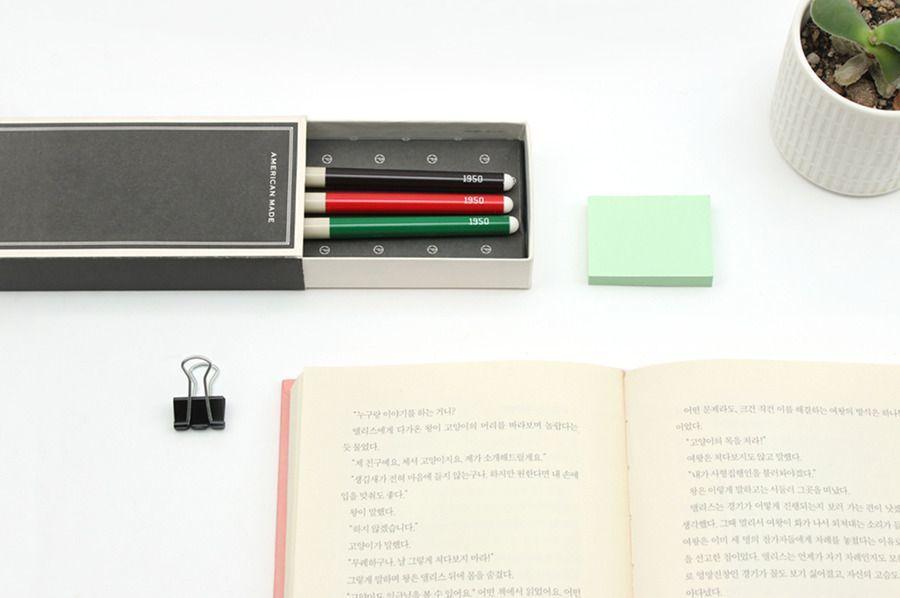 1950 Retro Gel Pen Set