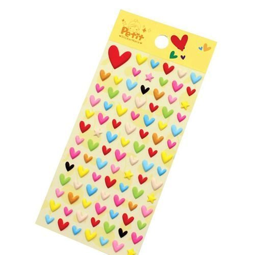 Pop Heart Deco Sticker