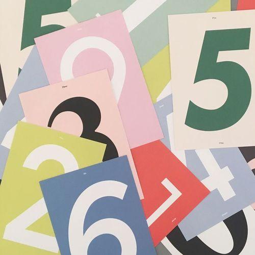 Number Postcard v2
